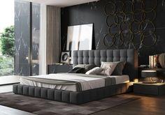 home decor bedroom design Luxury Bedroom Design, Bedroom Bed Design, Home Decor Bedroom, Bedroom Ideas, Bedroom Styles, Bedroom Designs, Modern Bedroom Furniture, Bed Furniture, Furniture Movers