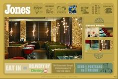 Jones Restaurant, Philadelphia. http://www.jones-restaurant.com/