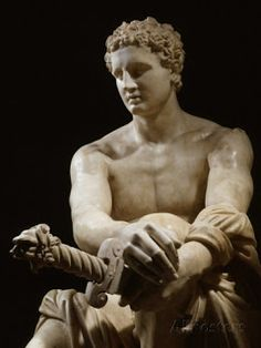 Achilles, Marble Sculpture Known as the Ludovisi Ares century BC - century BC, interesting piece due to the combination of styles. Greek History, Ancient History, Art History, Ancient Greek Art, Ancient Greece, Ancient Rome, Roman Sculpture, Sculpture Art, Sculpture Romaine