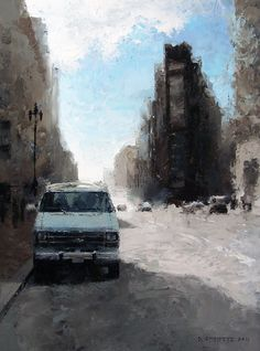 Van by DAVID CHEIFETZ