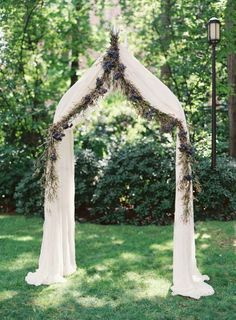 Eon could make the metal frame and I could do the drapes and flowers