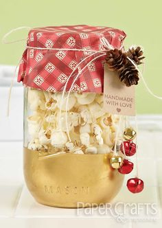 Holiday Cards & More | Amanda Coleman | Paper Crafts & Scrapbooking | handmade treat containers