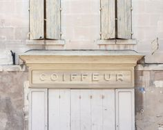 HairDresser Sign French  Provence South of France  8 by magalerie, $25.00