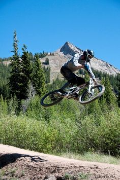#CrestedButte Downhill Experience! Photo by Trent Bona