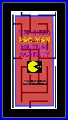 Good info on how to set up a life-sized PAC MAN game.
