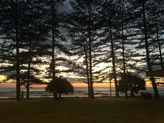 Sunrise at Burleigh Heads Beach. 17th May 2017.