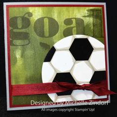 Soccer Fan – Stampin' Up! Card |