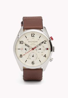 Reloj Con Correa De Piel