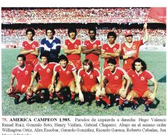 1985 America de Cali Valencia, Gerardo Gonzalez, Sanya, Barcelona, Football Team, Volleyball, Challenges, Soccer, Amor