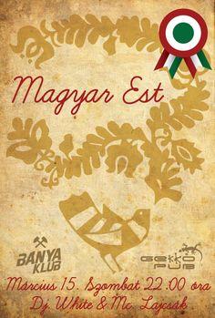 Magyar Est a Gekkoban. Movie Posters, Film Poster, Billboard, Film Posters