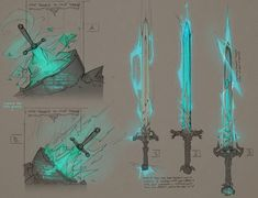 ArtStation - The Sword in the Stone, Julio Nicoletti Fantasy Sword, Fantasy Armor, Fantasy Weapons, Dungeons And Dragons Homebrew, D&d Dungeons And Dragons, Sword Drawing, Sword Art, Armor Concept, Weapon Concept Art