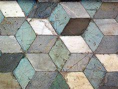 Roman mosaics at Piazza della Vittoria, Palermo, Sicily