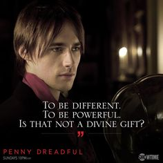 To be alien. To be disenfranchised from those around you. Is that not a dreadful curse? #PennyDreadful pic.twitter.com/SOywggqQQf