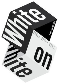 Südpol-Plakate: White On White, 2012