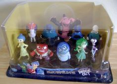 Inside Out Disney Movie Deluxe Playset 10 Figures Cake Topper Party Gift Pixar #Disney
