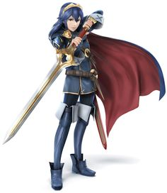 Lucina | Super Smash Bros. for 3DS and Wii U