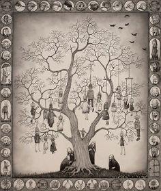 #hanged #monster #illustration John Kenn Mortensen