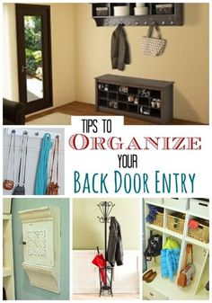 Tips to Organize Your Back Door Entry | eBay (spon)
