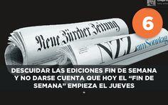 Cómo matar los diarios impresos...6