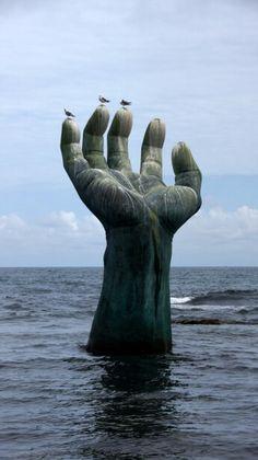 상생의 손  포항 호미곶
