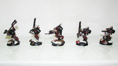 Flesh Tearer Honour Guard (Sanguinary Guard)..... Honor Guard, Warhammer 40k, Army, Inspiration, Home Decor, Gi Joe, Biblical Inspiration, Decoration Home, Military