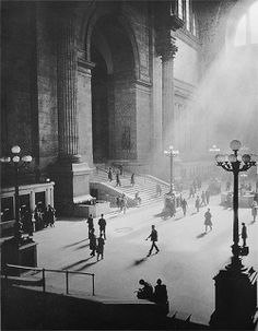Pennsylvania Station, New York, 1930s