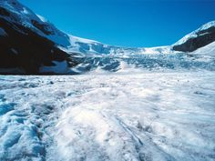 Athabasca Glacier, Canadese Rocky Mountains Canada, 50 States, Banff, Rocky Mountains, Continents, Mount Everest, The Good Place, Places To Visit, Traveling