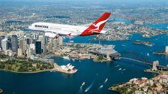Foto: Qantas A380-800 Over Skies Of Sunny Australia