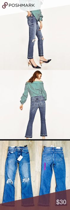 2c46995c Shop Women's Zara size 34 Jeans at a discounted price at Poshmark.