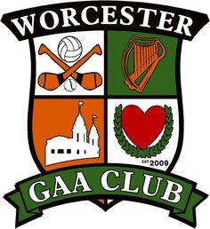 Worcester GAA Club crest www.facebook.com/worcestergaaclub Worcester, Crests, Club, Facebook, Family Crest