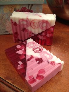 Raspberry Glycerin Soap.Love it!