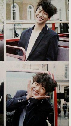 Bang Yongguk - B.A.P Su sonrisa ilumina mi alma