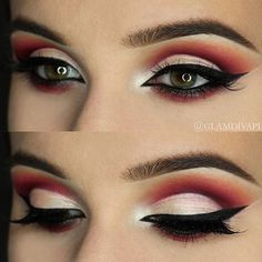WEBSTA @ makeupaddictioncosmetics - Love this bold eye look by @glamdivapl using her #makeupaddictionbrushes!  #makeupaddictioncosmetics