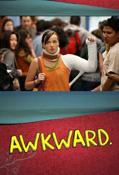"""MTV's """"Awkward"""" - the best teen TV since... """"My So-Called Life""""? The wit, humor, and adolescent issues seem to shine through. ((my favorite show on MTV!))"""