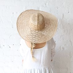 Brookes Boswell - Optimo Straw Hat Honeycomb