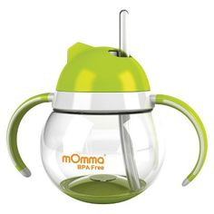 mOmma Straw Sippy Cup with Dual Handles