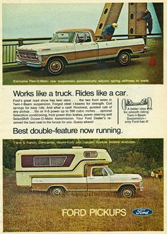 1969 Ford Pickup Truck and Camper | Flickr - Photo Sharing!