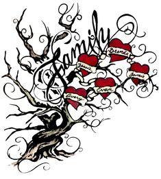 Family Tree Tattoo For Women Tatoo 20 Trendy Ideas Family Name Tattoos, Tattoos With Kids Names, Mom Tattoos, Body Art Tattoos, Tattoos For Women, Tatoos, Kid Names, Tattoo Life, Tattoos Infinity
