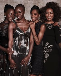 The Queens of Black Panther