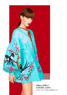 Yuliya Magdych has presented her new cruise collection in Paris Gypsy Dresses, Boho Dress, Holiday Dresses, Summer Dresses, Dress Neck Designs, Cruise Collection, Embroidered Clothes, Boho Fashion, Fashion Design