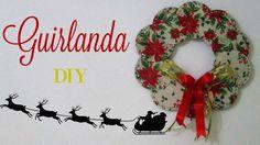 Guirlanda feita com cds | Diy Especial de Natal #3