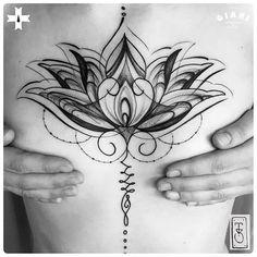Hindu-Lotus-Tattoo-by-Tanis-Biazus.jpg (750×750)