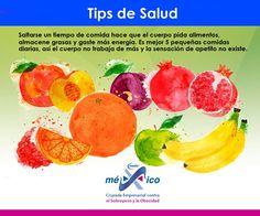 Aliméntate sanamente y come a tus horas. #Bienestar y #Salud #Tips #Consejos