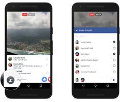 Novità #FacebookLive: gruppi, eventi, filtri e reazioni