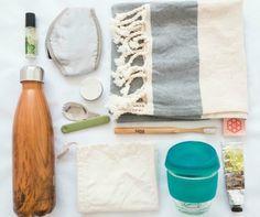 Zero Waste Travel Essentials- Zero Waste Travel Essentials Source by dejligedays Travel Kits, Travel Bag, Car Travel, Beach Travel, Passport Travel, Airplane Travel, Slow Travel, Beach Trip, Budget Travel