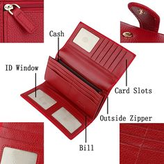 63c8527ac8c6 9 Best Hand walkets images | Wallets, Wallet, Leather purses