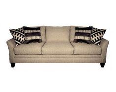 Contemporary Grey Sofa W/ Accent Pillows   Sam Levitz Furniture