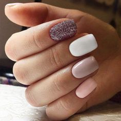 Now you might start to get fantastic ideas about how to do ombre. Keep your nails shiny and brave. Ombre acrylic nails are very popular nowadays. Ombre Nail Designs, Winter Nail Designs, Toe Nail Designs, Simple Nail Designs, Art Designs, Nails Design, Cute Toe Nails, Easy Nails, Simple Nails