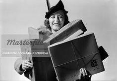 Image result for shopping 1940s