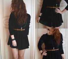 Choies Velvet Dress